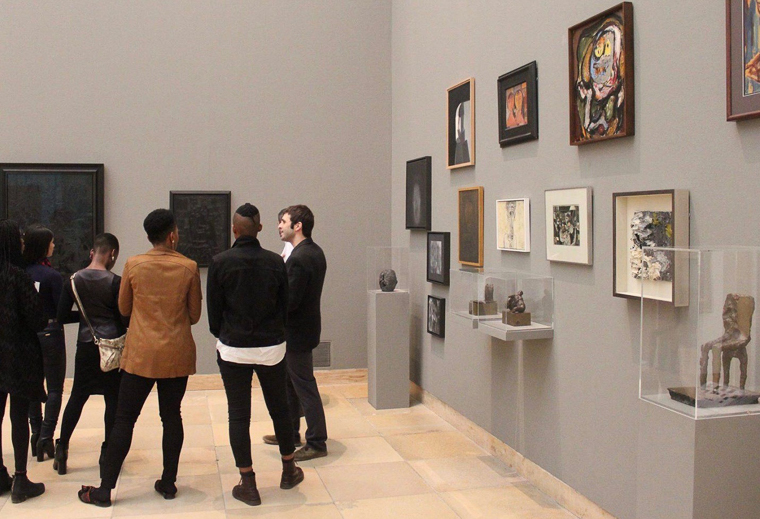 Haus der Kunst, Munich, site visit, Beyond the Frame